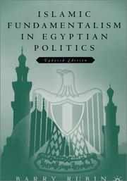 Cover of: Islamic Fundamentalism in Egyptian Politics | Barry Rubin