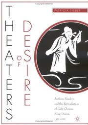 Cover of: Theaters of Desire