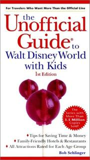 Cover of: The Unofficial Guide to Walt Disney World With Kids (Unofficial Guide to Walt Disney World with Kids) | Bob Sehlinger