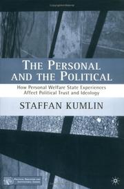 Cover of: The Personal and the Political | Staffan Kumlin