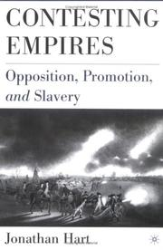 Cover of: Contesting Empires | Jonathan Hart