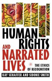 Cover of: Human rights and narrated lives