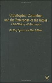 Cover of: Christopher Columbus and the Enterprise of the Indies