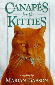 Cover of: Canapés for the kitties