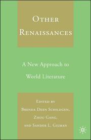 Cover of: Other renaissances |