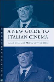 Cover of: A new guide to Italian cinema