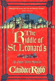 Cover of: The riddle of St. Leonard's