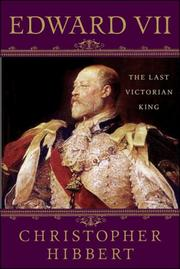 Cover of: Edward VII | Christopher Hibbert