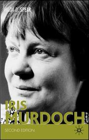 Cover of: Iris Murdoch | Hilda D. Spear