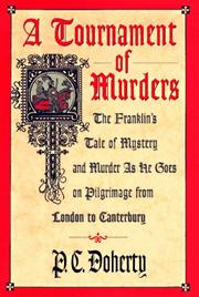 Cover of: A tournament of murders