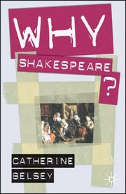 Cover of: Why Shakespeare?