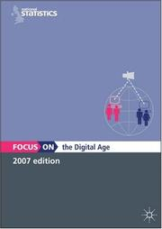 Cover of: Focus on the Digital Age (Focus On) | Office for National Statistics