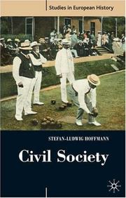 Cover of: Civil Society | Stefan-Ludwig Hoffman