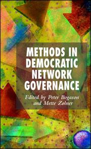 Cover of: Methods in Democratic Network Governance |