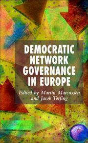 Cover of: Democratic Network Governance in Europe |