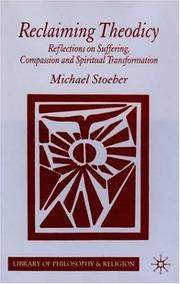 Cover of: Reclaiming theodicy | Michael Stoeber