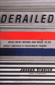 Cover of: Derailed | Joseph Vranich