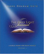 Cover of: Daily Light Journal
