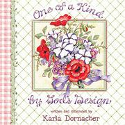 Cover of: One of a Kind By God's Design