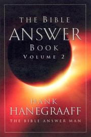 Cover of: The Bible Answer Book, Volume 2 | Hank Hanegraaff