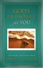 Cover of: God's Promises for You