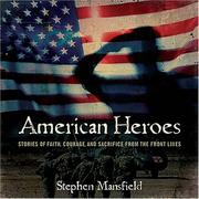 Cover of: American Heroes | Stephen Mansfield