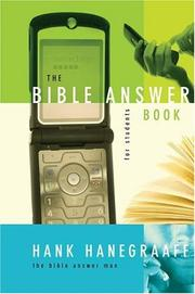 Cover of: The Bible Answer Book for Students