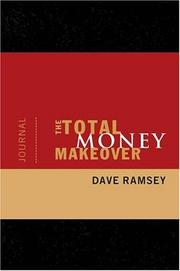 Cover of: The Total Money Makeover Journal