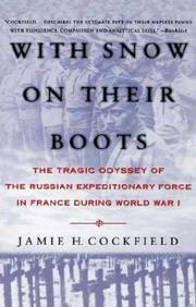 Cover of: With Snow on their Boots | Jamie H. Cockfield