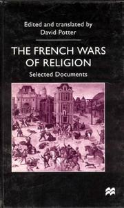 Cover of: The French Wars of Religion