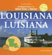 Cover of: Louisiana/ Luisiana (The Bilingual Library of the United States of America) |