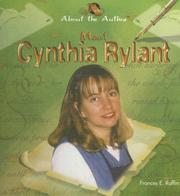Cover of: Meet Cynthia Rylant | Frances E. Ruffin