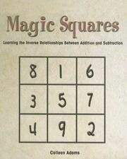 Cover of: Magic Squares | Colleen Adams