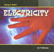 Cover of: Electricity | Ian F. Mahaney
