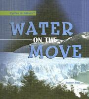 Cover of: Water on the Move (Cycles in Nature)