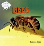 Cover of: Bees (Under the Microscope: Backyard Bugs)