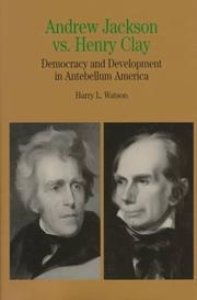 Cover of: Andrew Jackson vs. Henry Clay