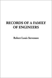 Cover of: Records of a Family of Engineers | Robert Louis Stevenson