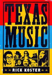 Cover of: Texas music