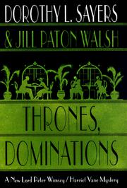 Cover of: Thrones, dominations