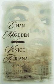 Cover of: The Venice Adriana | Ethan Mordden