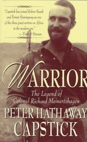Cover of: Warrior
