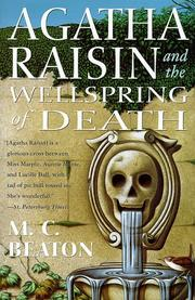 Cover of: Agatha Raisin and the wellspring of death
