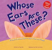 Cover of: Whose Ears Are These? | Peg Hall
