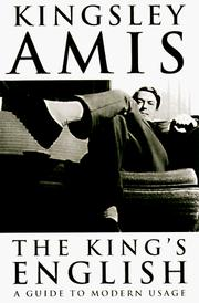 Cover of: The King's English