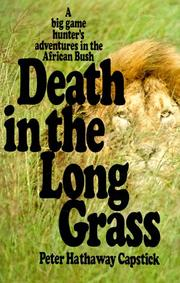 Cover of: Death in the long grass