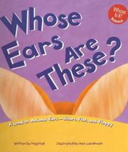 Cover of: Whose Ears Are These?