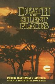 Cover of: Death in the Silent Places