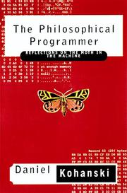 Cover of: The philosophical programmer