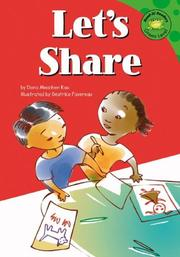 Cover of: Let's share